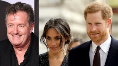 Photo of Meghan Markle, Prince Harry labeled 'hypocritical professional victims' by Piers Morgan for Oprah sit-down