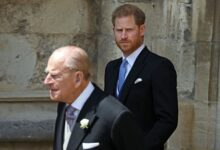 Photo of Prince Harry trying to get back for Prince Philip's funeral after chat with family